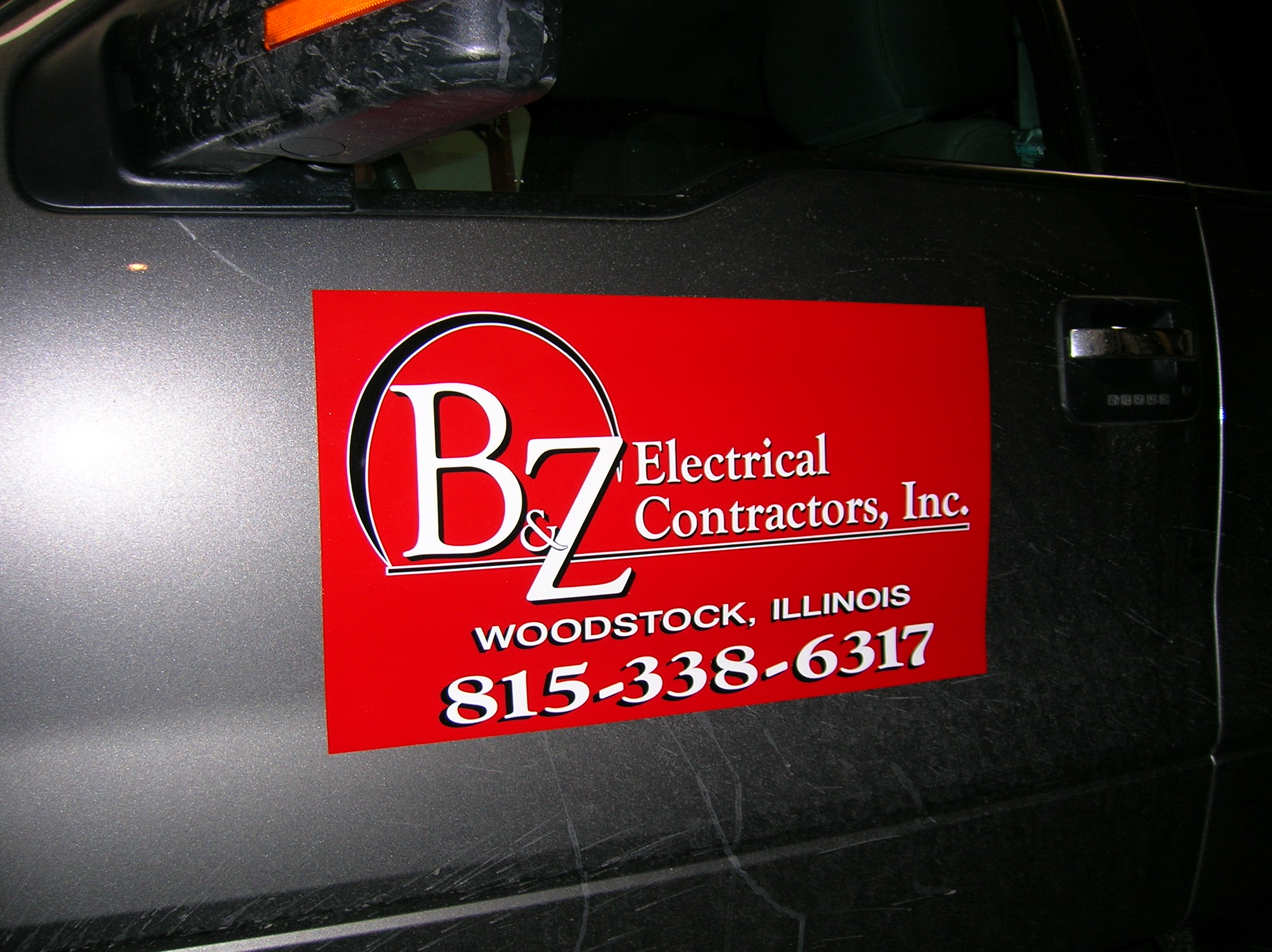 Magnetic Signs Woodstock Signs Window Truck Lettering